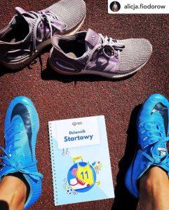dziennik startowy karty sportowca psychologia sportu