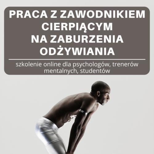 zaburzenia odżywiania psychologia sportu