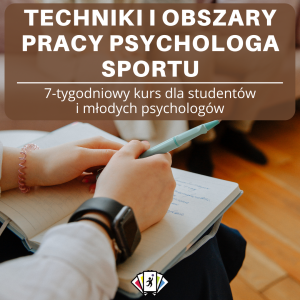 psycholog sportu trening mentalny
